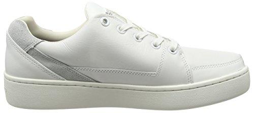 G-Star - Wolker Lo, Scarpe da ginnastica Donna Bianco (Weiß (bright white 1322))