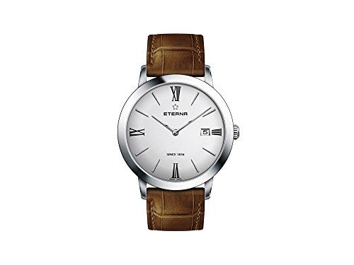Eterna Eternity Lady Quartz Watch, ETA 955.112, 40mm, Silver, 2711.41.12.1393