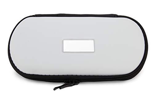 Aufbewahrungs-Etui Ego für E-Zigaretten und E-Shishas ideal als Tasche Hülle Bag Case zum Schutz oder für Liquids und Zubehör Weiss -