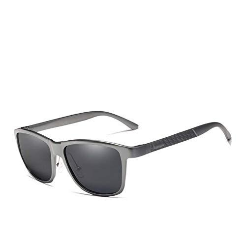 SYQA Retro Aluminium Magnesium Sonnenbrille Polarisierte Vintage Frauen Sonnenbrille Fahren Männer Brillen Zubehör,C2