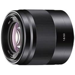 Sony Objectif SEL50F18 Monture E APS-C 50 mm F1.8 - Noir