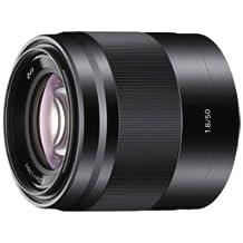 Sony SEL50F18B, Porträt-Objektiv (50 mm, F1,8 OSS, E-Mount APS-C, geeignet für A5000/ A5100/ A6000 Serien& Nex) schwarz