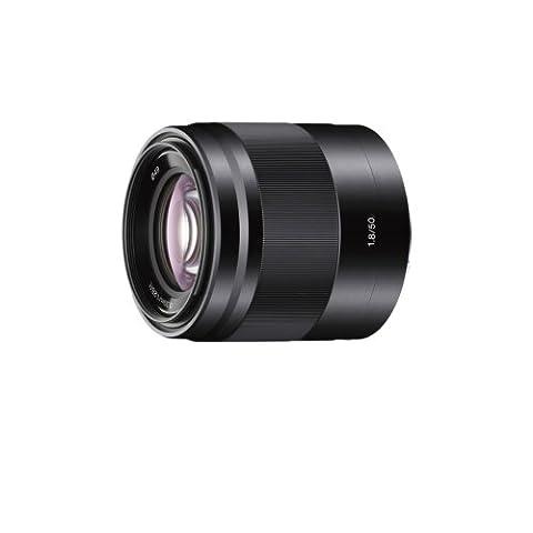 Sony SEL50F18B, Porträt-Objektiv (50 mm, F1,8 OSS, E-Mount APS-C, geeignet für A5000/ A5100/ A6000 Serien& Nex)