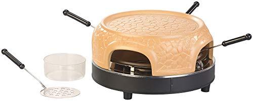 Cucina di Modena Pizzadom: Pizzaofen mit echter Terrakotta-Haube für 4 Personen (Mini Pizza Stein Ofen)