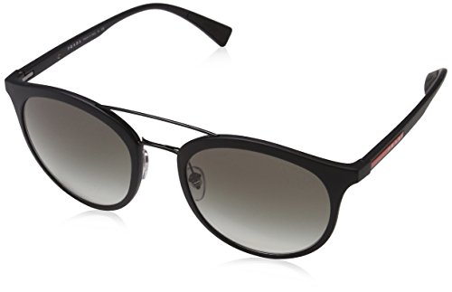 Prada Sport Herren 0PS04RS UB05X1 54 Sonnenbrille, Braun (Brown Rubber/Polargreen),