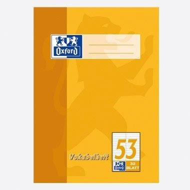 Oxford Vokabelheft A4/384403253 zweispaltig 90 g/qm Inh.32 Blatt