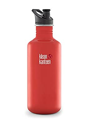 Klean Kanteen Edelstahlflasche Flasche Classic Sports Cap von Klean Kanteen auf Outdoor Shop