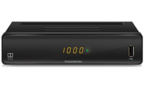 S-pdif-kabel Koaxial (THOMSON THC300 HD Kabelreceiver für digitales Kabelfernsehen DVB-C mit Teletext (USB, HDMI, Kabel-In/Out, SCART, EPG, Radioprogramme, geeignet für Ihr Kabelnetz: Vodafone, Unitymedia) - schwarz)