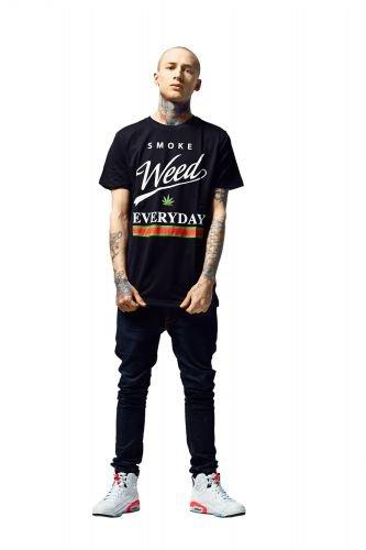 T-Shirt - Smoke Tee - schwarz Schwarz