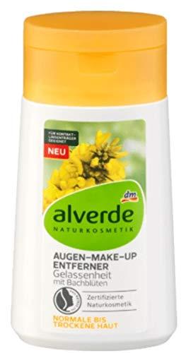 alverde NATURKOSMETIK Augen-Make-Up Entferner mit Bachblüten, 100 ml