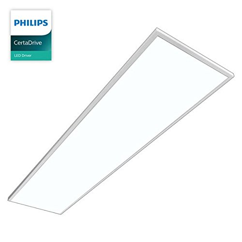 LED Panel, MAREN, PHILIPS CertaDrive, 50W, dimmbar, Active Pure Tageslicht, 1195x295mm, LED Panel, Rasterleuchten, Pendelleuchte, Büroleuchten