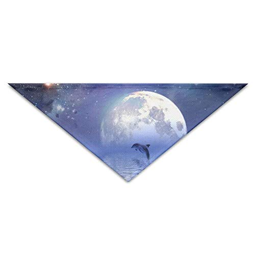 (Hectwya Pet Bandanas Lovely Moon StarlightDog Geburtstag Pet Bandana Halsbänder für Hunde und Katzen)