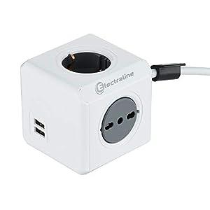 Electraline Multipresa Cubo Powercube 31RkRs3BDpL. SS300