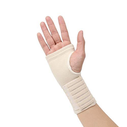 MISSLYY Outdoor Hosenträger gegen Zerrungen, verstellbar, atmungsaktiv, fest gekleidet, einfach verpackt, Beige/Weiß