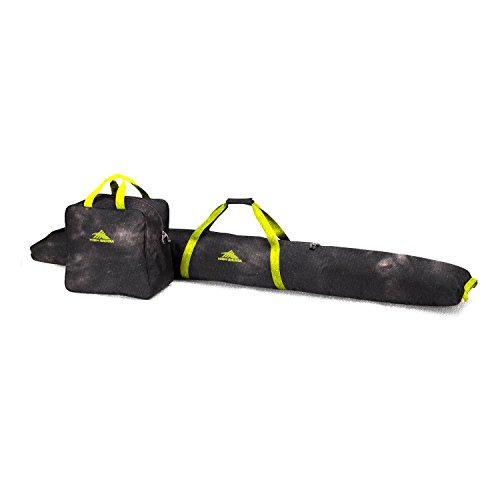 High Sierra Ski und Boot Bag Combo, Atmosphere/Black/Zest (Bag Combo Ski-und Boot)