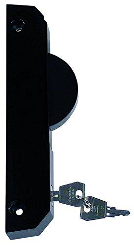 Schubladenverschluss ERGO für Kühlgerät Länge 185mm Breite 23,5mm abschließbar EP rechts halbrund Höhe 76mm Serie 6190