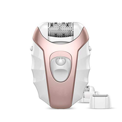 Meen Frauen-Epilierer, elektrischer Laser-sicherer bequemer Haar-Entferner-Gerät-Nasser und trockener drahtloser Trimmer CN-6130 (Farbe : Pink) (Haar-entferner-laser Frauen Für)