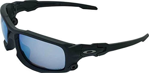 Oakley SI Shocktube Satin Black Prizm Deep Water Polarized
