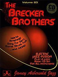 AEBERSOLD AEBERSOLD N°083 - THE BRECKER BROTHERS + CD Jazz&Blues Noten Alle Instrumente