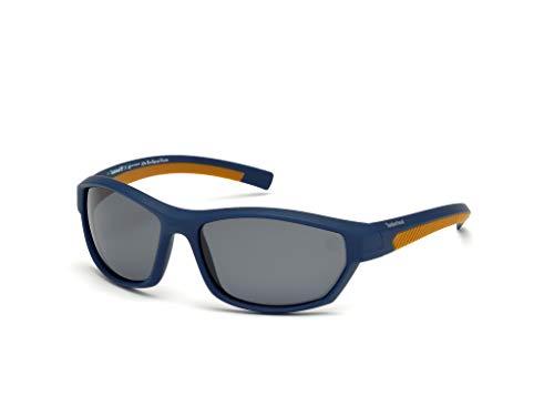 Timberland Unisex-Erwachsene Brillengestelle TB9126 91D 62, Blau (Blu Op\\Fumo Polar)
