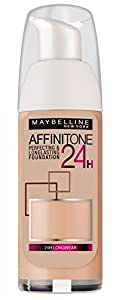 Maybelline Affinitone 24H Long Lasting Foundation SPF19 30ml - 10 Ivory