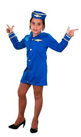 Disfraz de Azafata 5-6 años