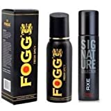 #6: Axe Signature And Fogg Fresh Black Collection Deo Deodorants Body Spray For Men -Combo Pack