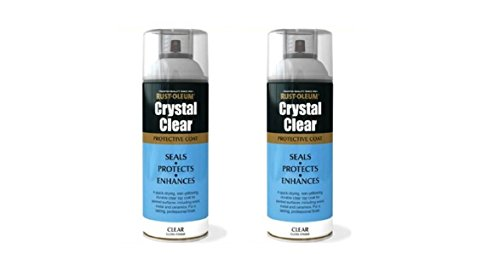 2x-rust-oleum-crystal-clear-gloss-spray-paint-protective-top-coat-400ml