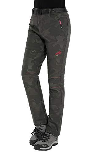 Haines pantaloni trekking invernali donna softshell impermeabili pantaloni da montagna escursionismo sci alpinismo