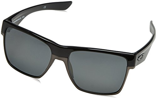 Oakley Herren 0OO9350 Sonnenbrille, Braun (Polished Black), 59