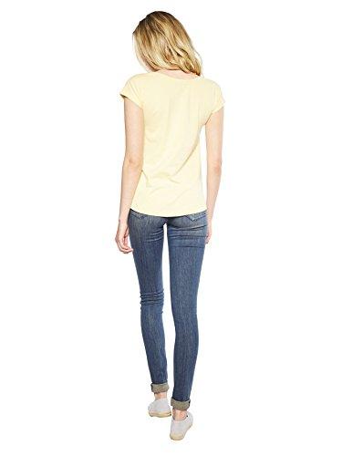 Colorado Denim Fran, T-Shirt Femme Gelb (gelb 2387)