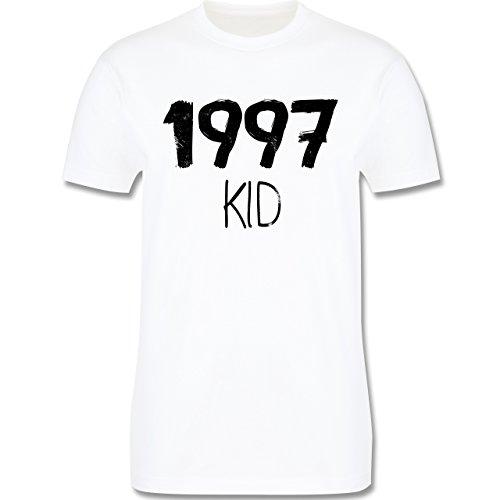 Geburtstag - 1997 KID - Herren Premium T-Shirt Weiß