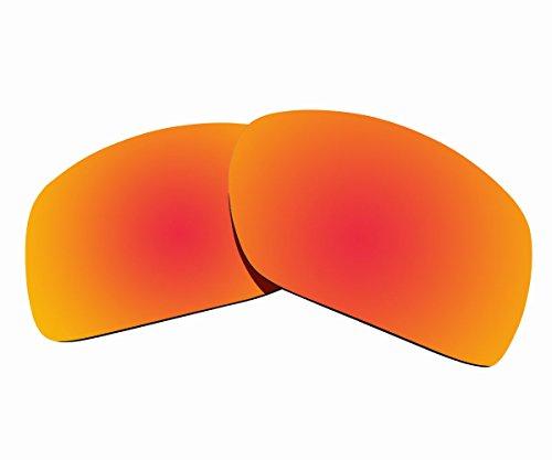 Sunnyblue2 Orange Polarisierte Ersatz Gläser für Oakley Big Taco Sonnenbrillen (Sonnenbrille Oakley Orange)