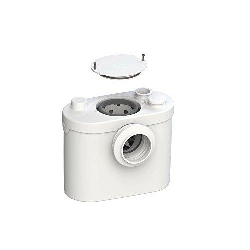SFA SANIBROY 0014UP Fäkalienhebeanlage / WC-Förderanlage Pro UP | Anlage zum Fördern von Schmutzwasser aus Toilette, Urinal und Waschtisch | Förderdistanz: 100x5m, Wasser 40°, 400 Watt, 220-240 Volt