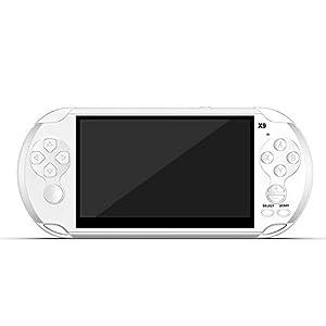 Vernwy Pocket Game Console 5,1-Zoll-Großbild-Doppel-Rocker-Videospielkonsole