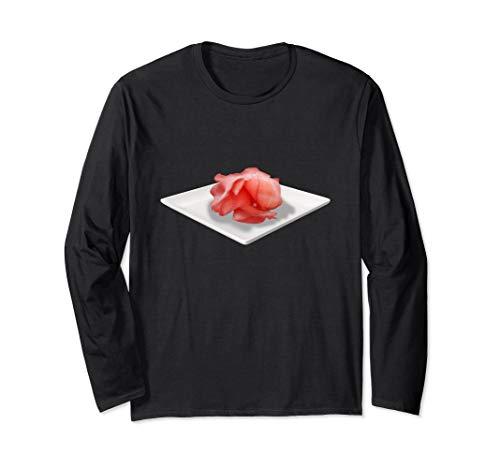 Ingwer Lustige Kostüm Für - Ingwer Japanisches Essen Gruppen kostüme Lustig Langarmshirt