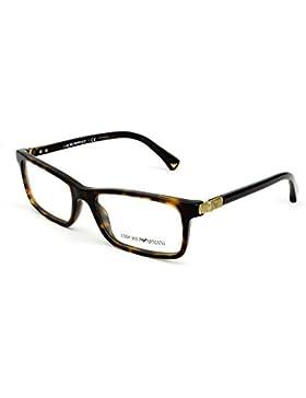 Emporio Armani Für Frau 3005 Dark Tortoise Kunststoffgestell Brillen, 51mm