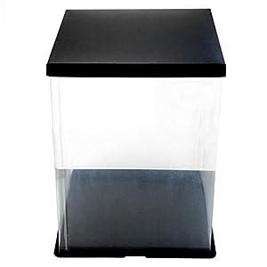 Transparente Geschenkbox, transparente Geschenkboxen, Rosenbär, Blume, transparente Geschenkbox, für Hochzeit…