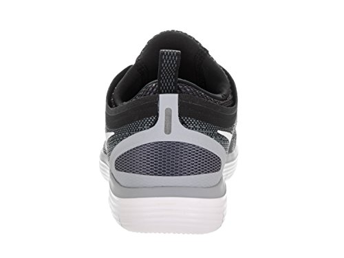 Nike Women's Free Rn Distance 2 Running, Chaussures de Fitness Femme Multicolore (Black/white-cool Grey-dark Grey)