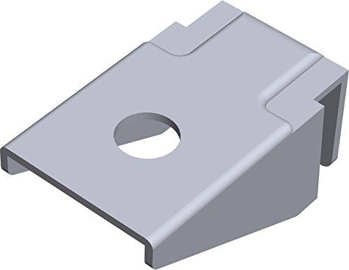 Element System Aufsteckhalter für Pro-Träger Regalträger, 1-seitig, Auflage für Holz und Glasböden, Regalsystem, 11604-00001