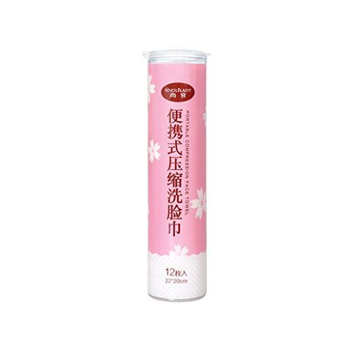 Yue668 Weltraum Einweg Trocken Komprimierte Münze Gesicht Handtuch Baby Tücher Tablet Reinigungstuch für Trave Hotel zu Hause zu Retten (A)