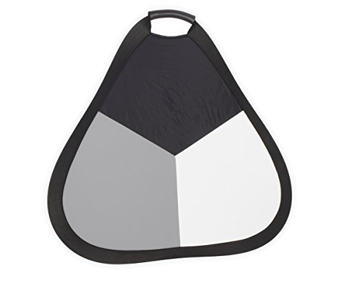 nomis-grey-panel-56cm-triangular-for-white-balance-foldable-double-sided-gray-black-white-backside-s