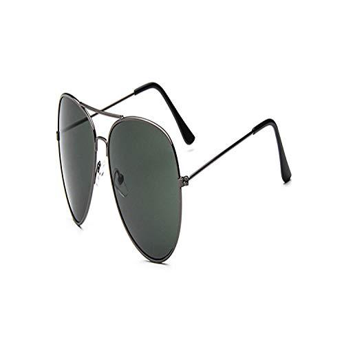 Vikimen Sportbrillen, Angeln Golfbrille,Night Vision Sunglasses Men Women Goggles Glasses UV400 Pilot Yellow Sun Glasses Driver Night Driving Cheap Eyewear 085 Gun Frame Green