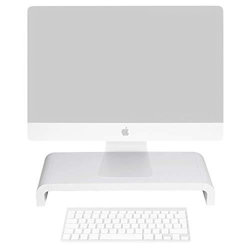 Lavolta erhöhten Monitor Riser Plattform Regal Ständer für Apple iMac-Weiß Arm-desktop-pole-mount