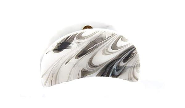 Haarkrebs Haarklammer Haarspange Haarclip Haarkralle schwarz 8 cm x 4,5 cm