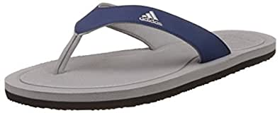 Adidas Men's Stabile Silvmt and Mysblu Flip-Flops and House Slippers - 10 UK/India (44.67 EU)