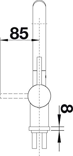 BLANCO Linus-S Küchenarmatur chrom – 512402 - 8