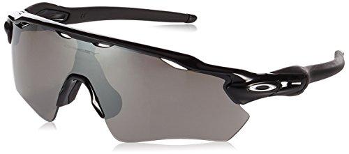 Oakley Herren Sonnenbrille Radar Ev Path 920855, Schwarz (Matte Black/Prizmdeeph2Opolarized), 38