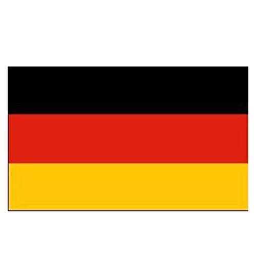 Pegcdu 90 * 150cm Deutsche Flagge Qualität Fans Fans Polyester Banner