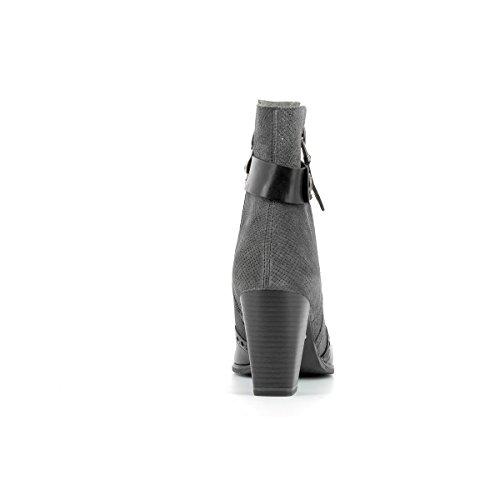 MARCO TOZZI - Bottines en cuir femmes MARCO TOZZI - 25003-27 - Bottes / Bottines - 36 au 40 Grey